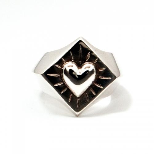 Ring Strahlendes Herz
