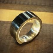 Eisenkranz Silberring