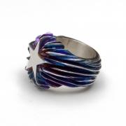 Ring »Flaming Star«